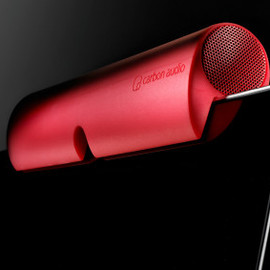 Carbon Audio - Zooka - wireless speaker bar for iPad