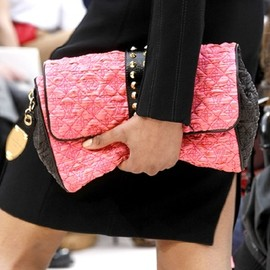 Louis Vuitton - black & pink