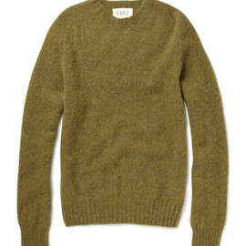 YMC - Crew Neck Lambswool Sweater