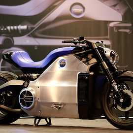 Voxan Motors - Wattman / electric motorcycle