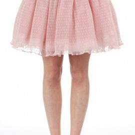 Manoush  -  Cendrimary en tulle Rose12012S/S
