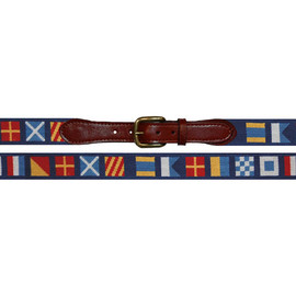 Snatchers & Branson - Darken' Stormy Needlepoint Belt