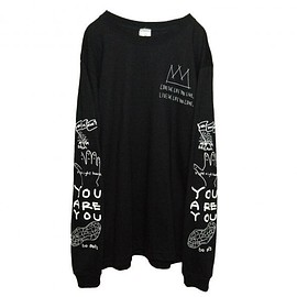 OMIYAGE - POSITIVE GRAFFITI L/S TEE (BLACK)