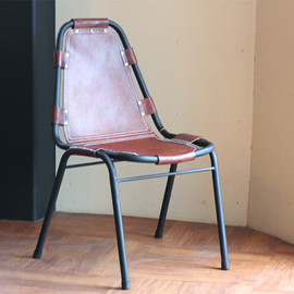 TRINITY - Iron Leather Chair