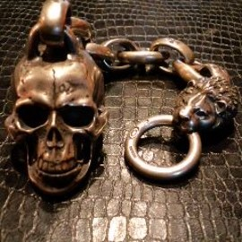 GABOR - LARGE SKULL KEY CHAIN