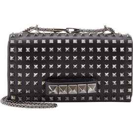 VALENTINO - Rockstud Flap Clutch With Handle