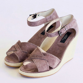 A.P.C. - Wedge sole sandal