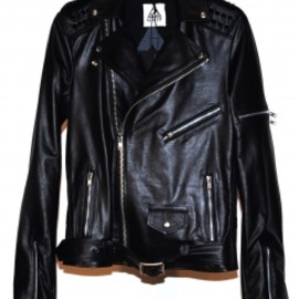 UNIF - Leather Studded Rider