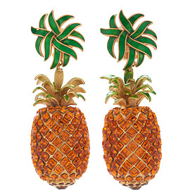 DOLCE&GABBANA - Pineapple Drop Earrings