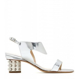 NICHOLAS KIRKWOOD - Metallic leather sandals
