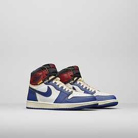 NIKE, UNION LOS ANGELES - UNION LOS ANGELES × NIKE AIR JORDAN 1 HIGH BLUE