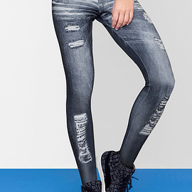 LVE - NEO DENIM TIGHT