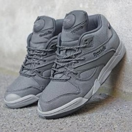 Reebok - REEBOK COURT VICTORY PUMP CORDURA GRAVEL/BLACK/GREY