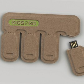 Kurt Rampton, BOLTgroup - GIGS.2.GO eco-friendly disposable USB flash drive