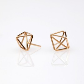 By Boe - Sophia Open Stud Earrings