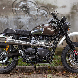 Mr Martini - Triumph Scrambler