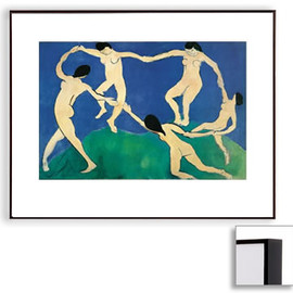 Henri Matisse - Dance I (Dark Brown Frame)