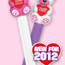 PEZ - 2012 Valentine Day Teddy Bear