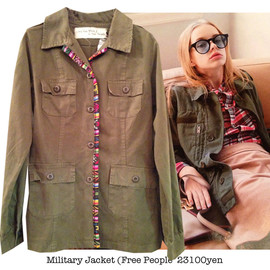 Free People - Military Jacket