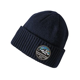 patagonia - Brodeo Beanie, Fitz Roy Scope: Navy Blue (FRNA)