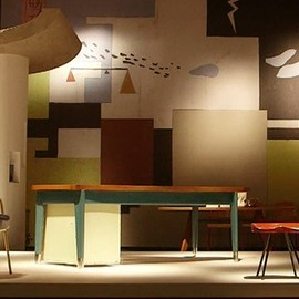 Jean Prouve & Charlotte Perriand - masterpieces @ Galerie Downtown : Design/Miami Basel 2014