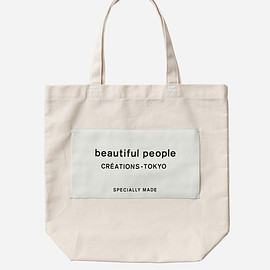 beautiful people - bp big name tote ecru