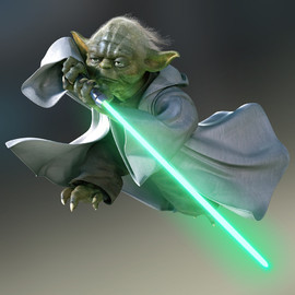 STAR WARS - Yoda's Lightsaber