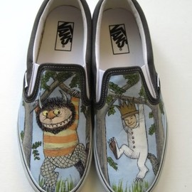 stabbyvonkillerstein - Vans shoes custom made