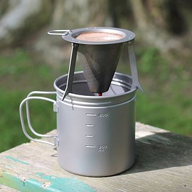 VARGO - Titanium coffee filter