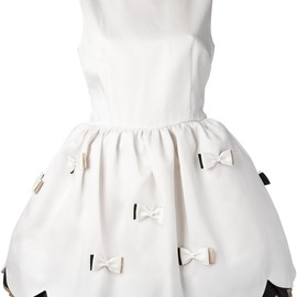 RED VALENTINO - bow detail dress