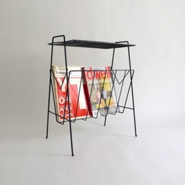 RESERVED for tammyhui - Black Metal Magazine Rack
