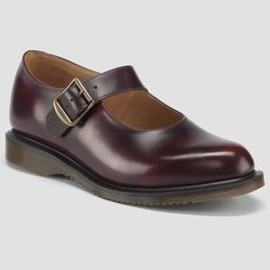 Dr.Martens - CORIN MARY JANE BURGUNDY CLASSIC RUB OFF