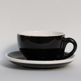 Landscape Products - Cup and Saucer/Black