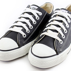 CONVERSE, ALL STAR - Leather Low Black US