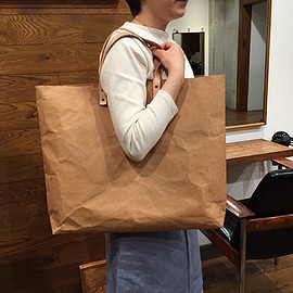 BelltaStudio - Tote Bag Grand : Kraft paper