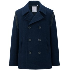 uu - Wool blended pea coat