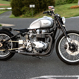 Triumph - Bonneville By LC Fabrications