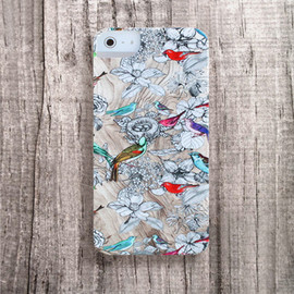Bycsera - Birst Nest iPhone case