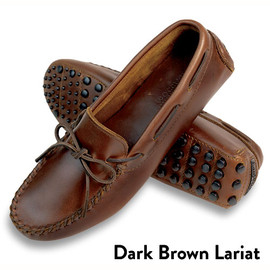 MINNETONKA - CLASSIC DRIVING MOC  Dark Brown