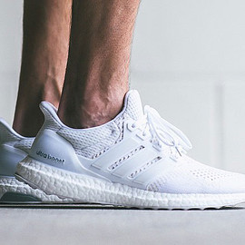 "Adidas - Ultra Boost ""Triple White"""