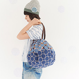 mina perhonen - pallo/tambourine pizza bag