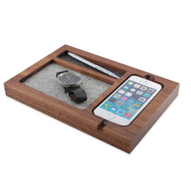 tinsel&timber - iPhone 5/5s/5c Walnut Timber Tray