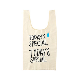TODAY'S SPECIAL × BLUE BOTTLE - TODAY'S SPECIAL × BLUE BOTTLE COFFEE  刺繍ロゴ入りミニマルシェバック