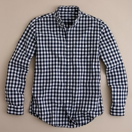 J.CREW - Secret Wash lightweight shirt in Van Buren gingham