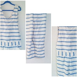 min arbetsyta - blue striped overall