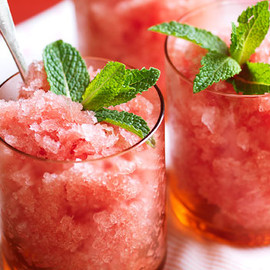 Australian - Watermelon and mint granita