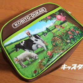 Kobito Dukan - こびとづかん shoulder bag (KD-2850) entering a kindergarten, entrance to school, excursion, holiday making