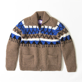 THE NORTH FACE PURPLE LABEL - WINDSTOPPER :Cowichan Sweater