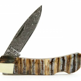 Santa Fe Stoneworks - Damascus Mammoth Tooth Single