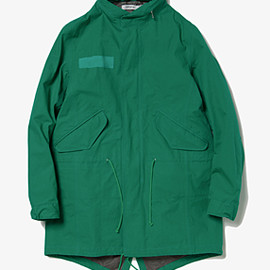 nonnative - TROOPER COAT COTTON WEATHER CLOTH WITH GORE-TEX PACLITE 2.5L